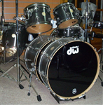 DW Collectors Series Maple Ebony Satin Oil Drumset
