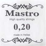 Χορδή Mastro 020 Nickel Plated Ball End