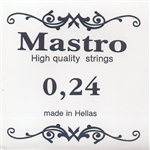 Χορδή 024 Mastro Nickel Plated Loop End