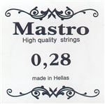 Χορδή 028 Mastro Silverplated