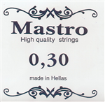 Χορδη 030 Mastro Silver Plated Loop End