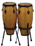 Congas Set Maxtone WDC-33N/S & Stands