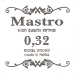 Χορδη 032 Mastro Nickel Plated Ball End