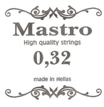 Χορδη 032 Mastro Silver Plated Loop End