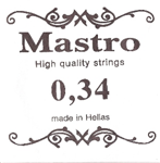 Χορδη 034 Mastro Nickel Plated Ball End