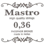 Χορδη Mastro 036 Phosphor Bronze Ball End