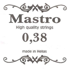 Χορδη 038 Mastro Silver Plated Loop End